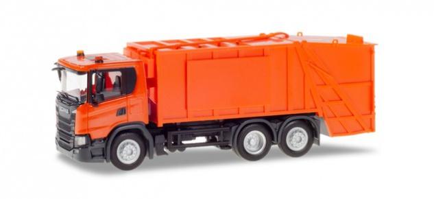 Herpa 309837 Scania CG 17 Pressmüllwagen