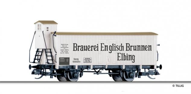 Tillig 501768 Kühlwagen Englisch Brunnen