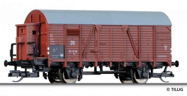 Tillig 14125 Gedeckter Güterwagen der DR