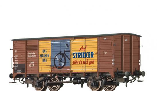 Brawa 67424 Güterwagen G10 Stricker