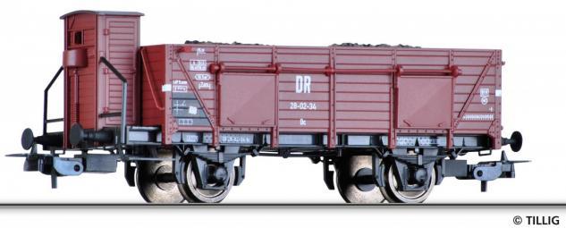Tillig 70030 Offener Güterwagen Omu der DR