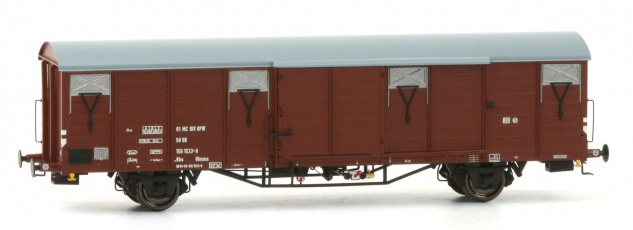 Exact Train EX20479 Güterwagen Glmms DR