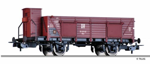 Tillig 76694 Offener Güterwagen Omu der DR