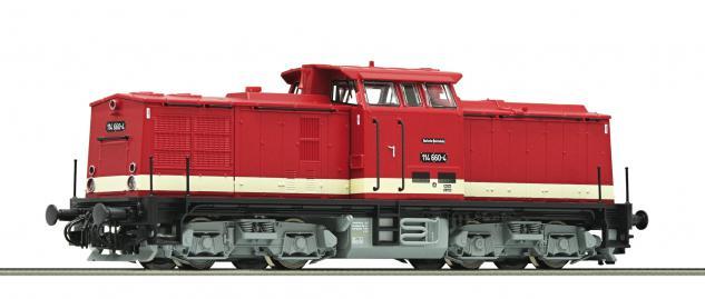 Roco 36303 Diesellokomotive BR 114 DR