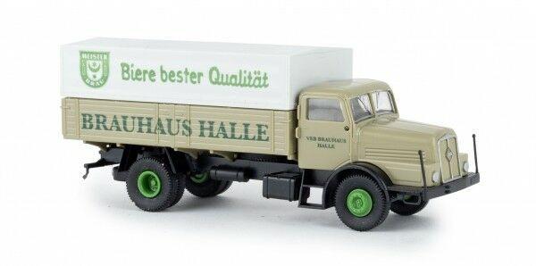 Brekina 71037 IFA H6 Brauhaus Halle