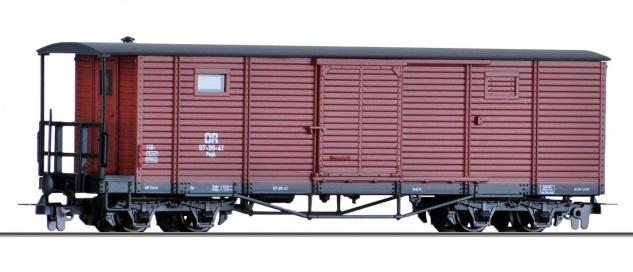 Tillig 05940 H0e Güterwagen der DR