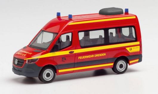 Herpa 095488 Feuerwehr Dresden Sprinter