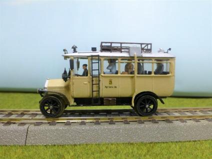 Nacke Schienenbus der K.sä.St.E.