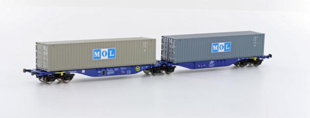 Hobbytrain H70501 Containertragwagen ITL