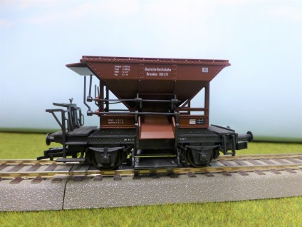 Roco 4334 Talbot-Schotterwagen der DRG