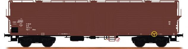 Brawa 48396 Gedeckter Güterwagen der DR