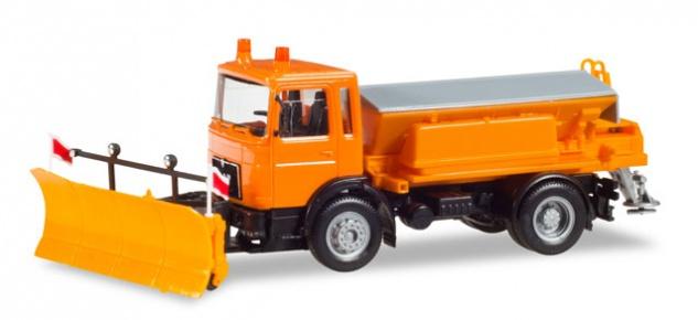 Herpa 309547 MAN F8 Winterdienstfahrzeug - Vorschau 1