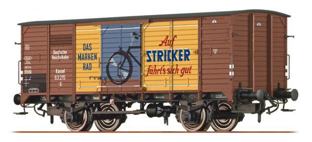 Brawa 49055 Gedeckter Güterwagen Stricker