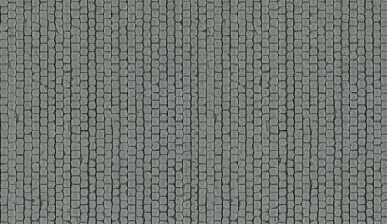 Kibri 34124 Kopfsteinpflasterplatte