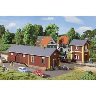 Auhagen 11435 Bahnhof mit Wasserhaus