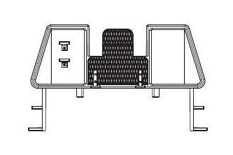 Piko 37920-52 Bühne für Personenwagen