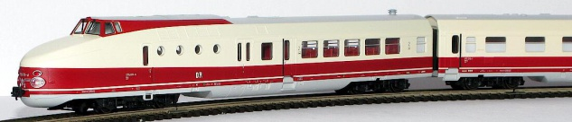Kres 1814N Schnelltriebwagen BR 175 DR