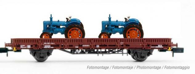 Arnold HN6487 Flachwagen mit Traktoren