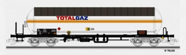 Tillig 501358 Gaskesselwagen Total Gaz
