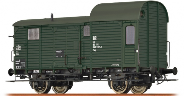 Brawa 49414 Güterzuggepäckwagen der DR