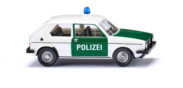 Wiking 004503 Polizei VW Golf 1