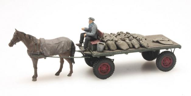 Artitec 387.276 Kohlenwagen mit Pferd