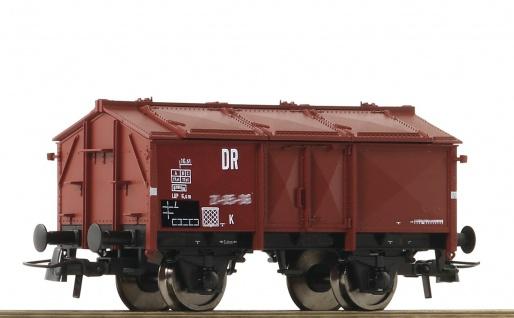 Roco 76306-1 Klappdeckelwagen der DR