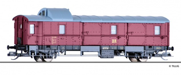 Tillig 13406 Gepäckwagen Pwi der DR