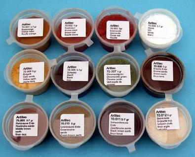 Artitec 70.000 Pulverset aus 12 Farben