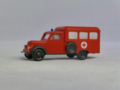 BeKa 117 Garant Feuerwehr Krankenfahrzeug
