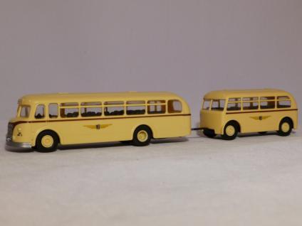 BeKa 051 Stadtbus H6B mit Anhänger