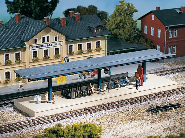 Auhagen 13221 Bahnsteig