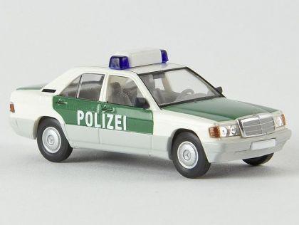 Brekina 13207 Mercedes Benz 190 E Polizei