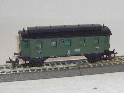 Bttb 3122 Personenwagen Nr.1410 Kpev - Vorschau 1