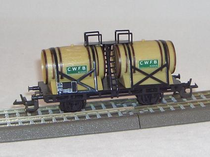 BTTB 4431 Weinfaßwagen