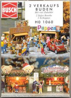 Busch 1060 Zwei Verkaufsbuden