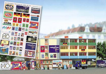 Busch 1130 Werbeplakate DDR