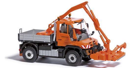 Busch 50915 Unimog U 430 mit Mähwerk
