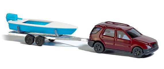 Busch 8334 Mercedes Benz mit Boot