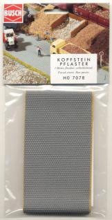 Busch 7078 Kopfsteinpflaster-Straße