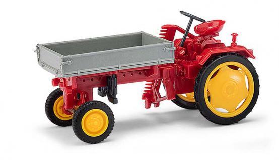 Busch 210005000 Traktor RS09 Pritsche