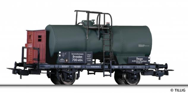 Tillig 76704 Kesselwagen mit Bremserhaus - Vorschau 1