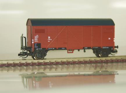 Hädl 113033 Gedeckter Güterwagen Gms DR