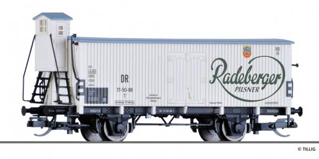 Tillig 17390 Kühlwagen Radeberger der DR