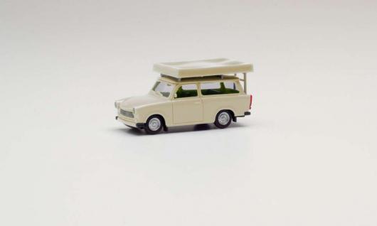 Herpa 024181-002 Trabant mit Dachzelt