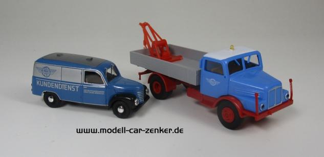 IFA S4000 Abschlepper und Framo V901