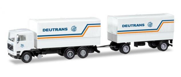 Herpa 309417 Volvo F12 Hängerzug Deutrans