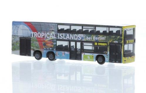 Rietze 16992 MAN Lion's City Tropical Islands