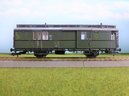 Sachsenmodelle Gepäckwagen der DRG