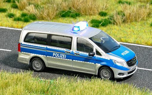 Busch 5597 Polizeifahrzeug mit Blinklicht